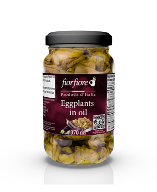 Eggplant Fillets in Oil 370 ml (12.5 OZ)