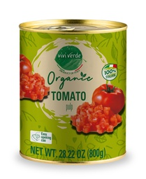 [US2101143] Organic Diced Tomatoes 800 g (28,22 oz)