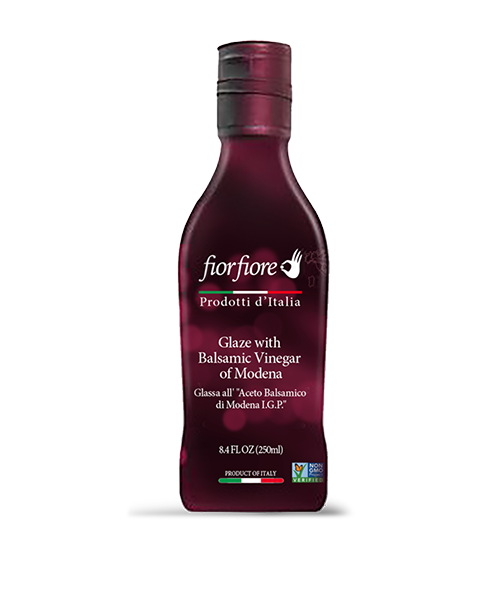 Balsamic Vinegar of Modena Glaze without caramel 250 ml (8.4 OZ)