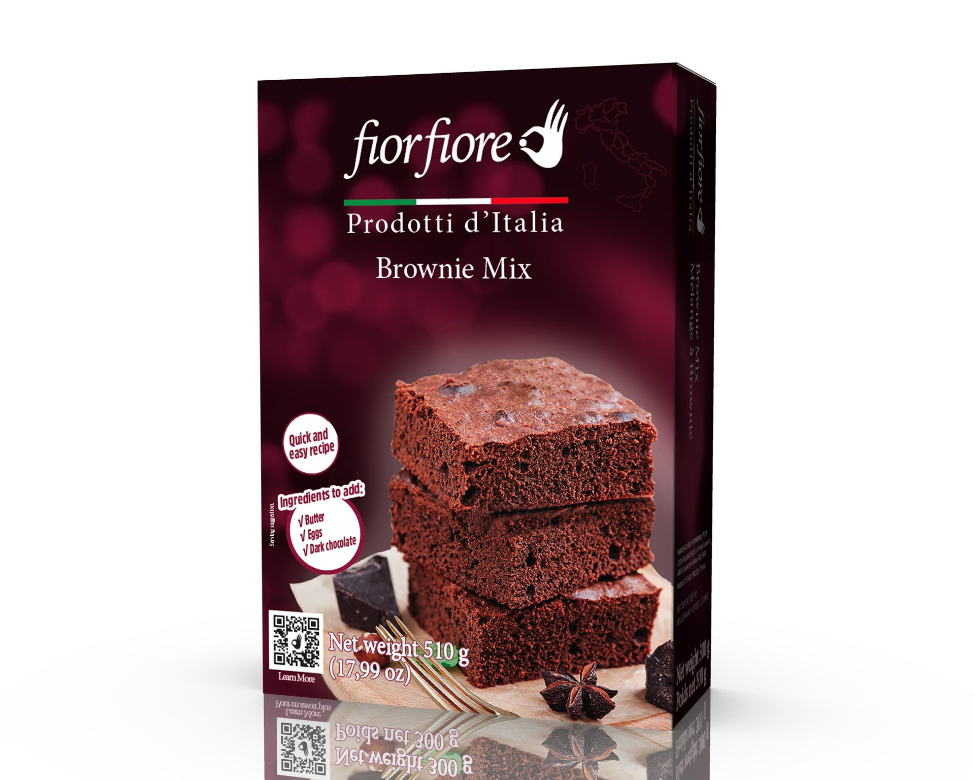 Brownies Mix 510 g (18 OZ)