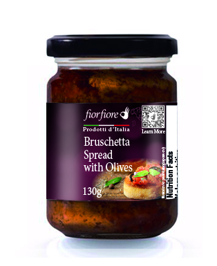 Bruschetta Spread with Olives 130 g (4.5 OZ)
