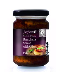 [US2000066] Bruschetta Spread with Olives 130 g (4.5 OZ)