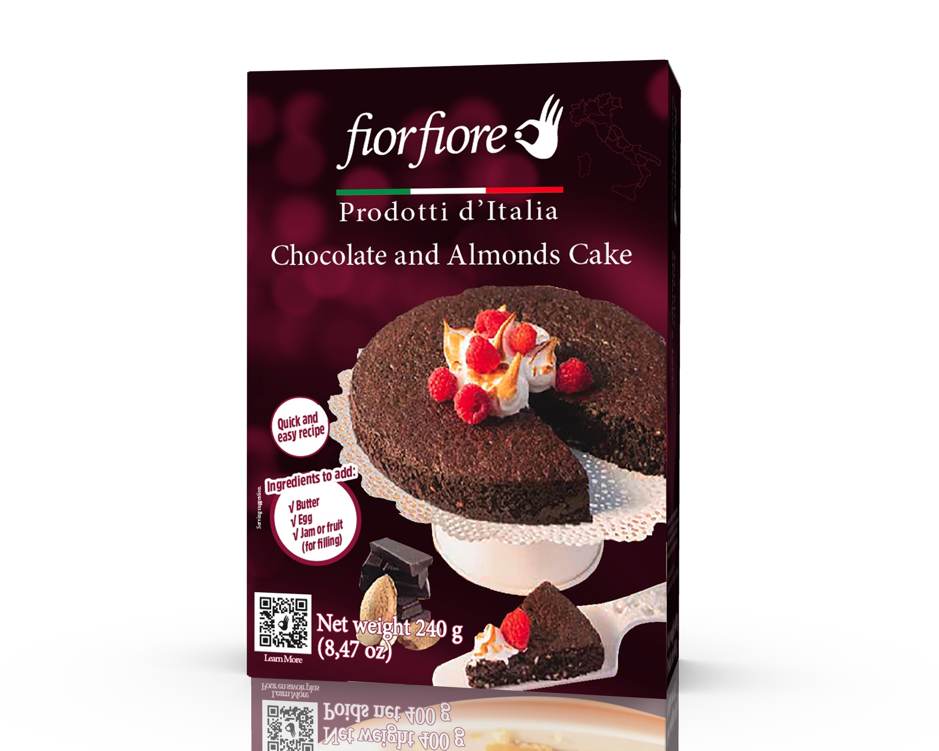 Chocolate and Almond Cake Mix 240 g (8.4 OZ)