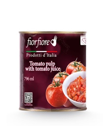 [US2000023] Diced Tomatoes with Tomato Juice 800 g (28 OZ)