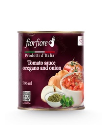 [US2000024] Diced Tomatoes with onion and oregano 800 g (28 OZ)